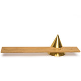 sonny marshall studios solid brass cone incense holder top