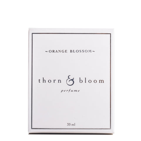 Orange Blossom by Thorn & Bloom, front packaging