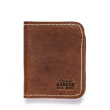 thread honcho lucky buck wallet brown