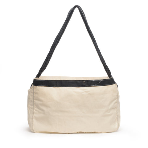 thread honcho paperboy cross body tote back