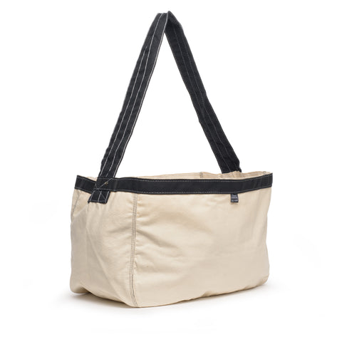thread honcho paperboy cross body tote front angle