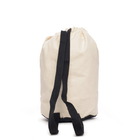 thread honcho canvas shoulder duffel back