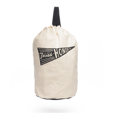 thread honcho canvas shoulder duffel front