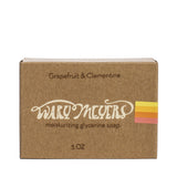 wary meyers scented soap grapefruit clementine boxed