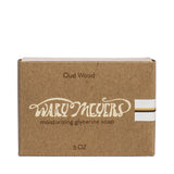 wary meyers scented soap oud wood boxed