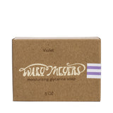 wary meyers scented soap violet boxed