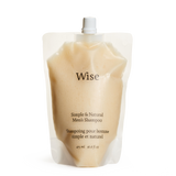 Wise Shampoo 475ml refill pouch front