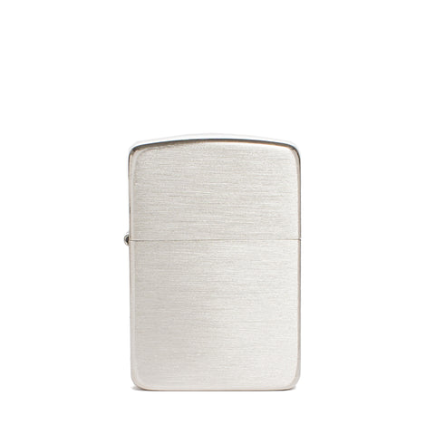 zippo lighter 1941 replica satin sterling silver front