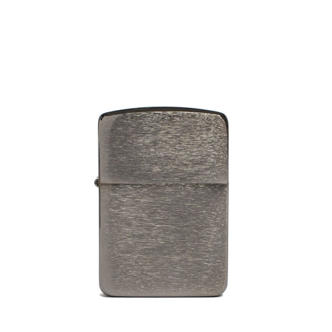 zippo lighter 1941 replica black ice front