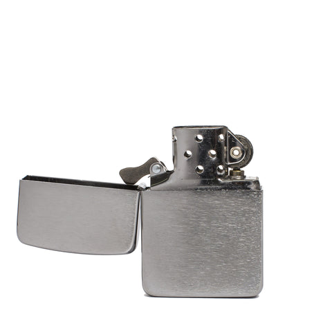 zippo lighter 1941 replica vintage chrome front open