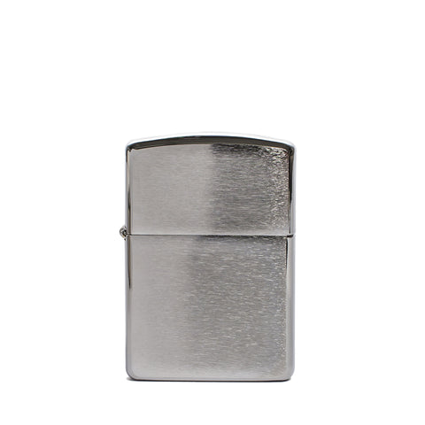 zippo lighter armor brushed chrome front