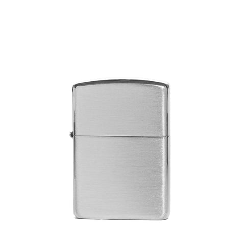 zippo lighter armor sterling silver front