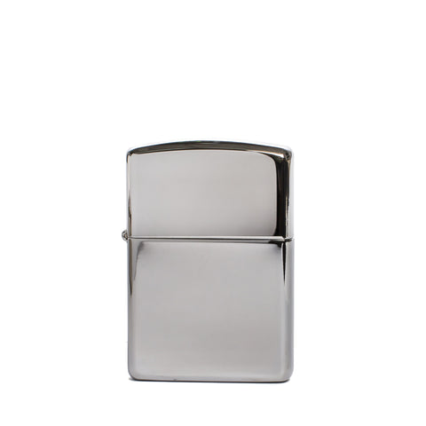 zippo lighter armor polished chrome front