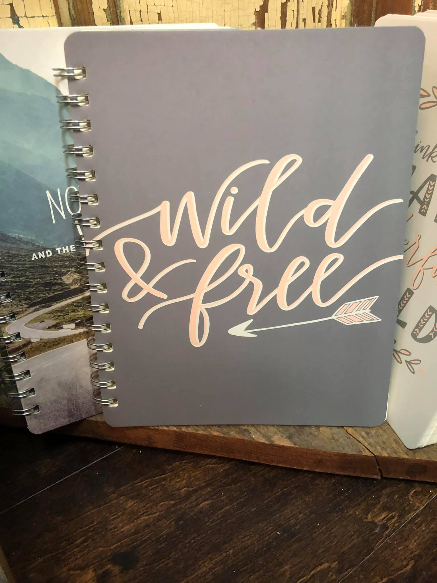 Wild & Free Spiraled Journal