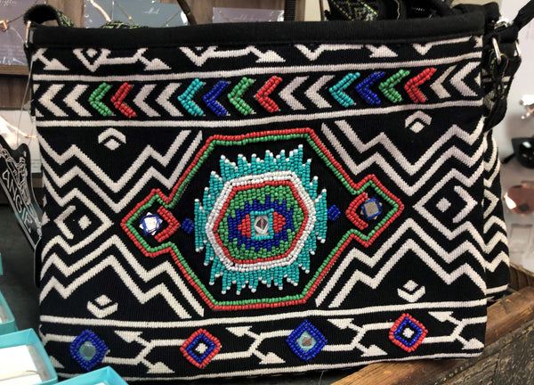 Geo Aztec Crossbody Purse