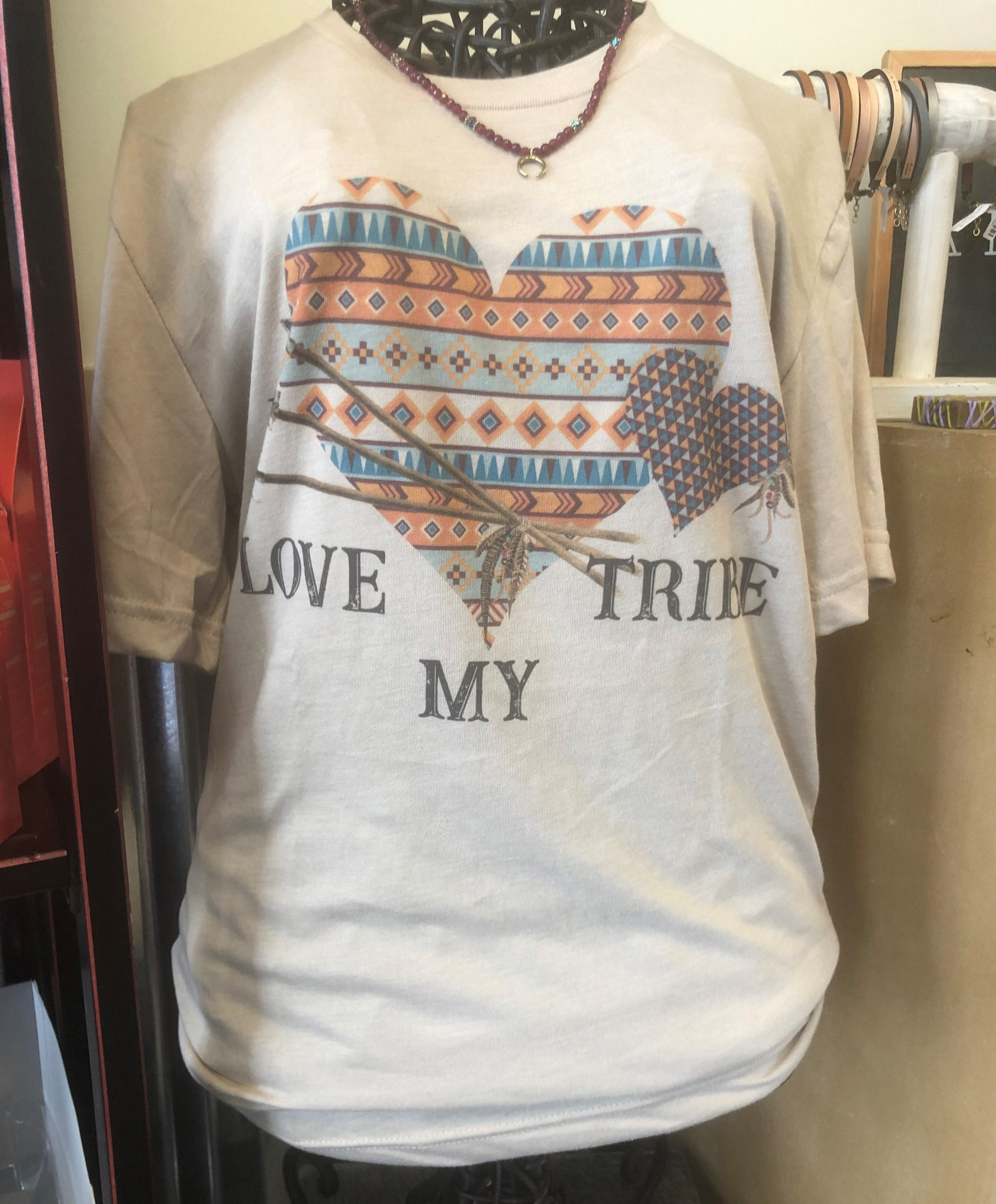 Love My Tribe T-Shirt by Midwest Tees
