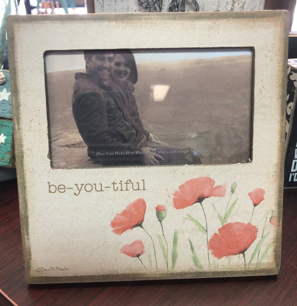 Be-You-Tiful Mini Picture Frame