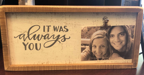 Always You Box Frame