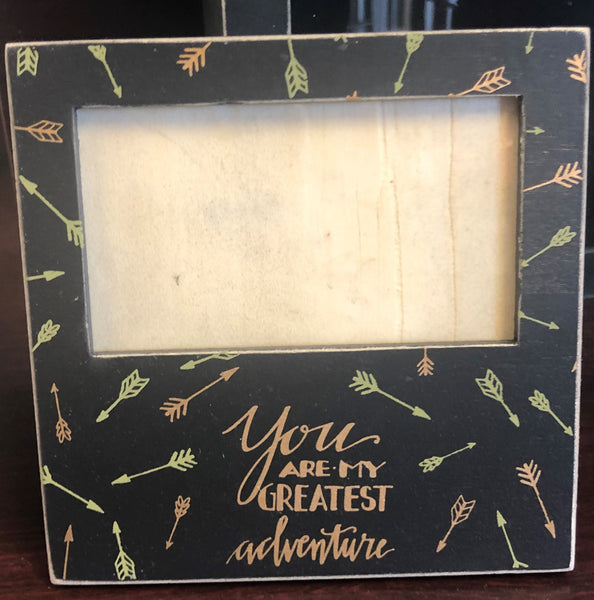 Greatest Adventure Mini Plaque Frame