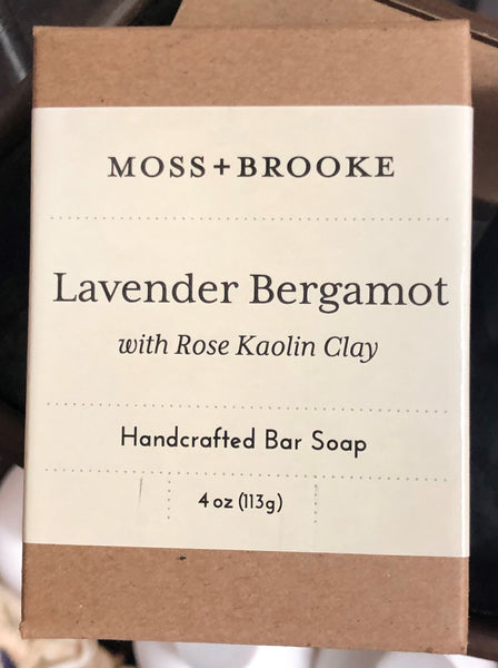 Moss & Brooke Hancrafted Bar Soap