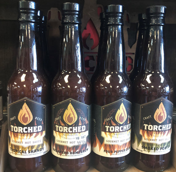 Torched Hot Sauces