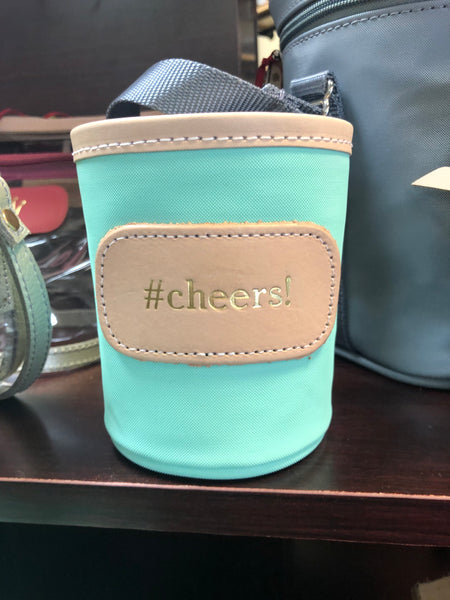 John Hart #cheers Coated Canvas Koozie