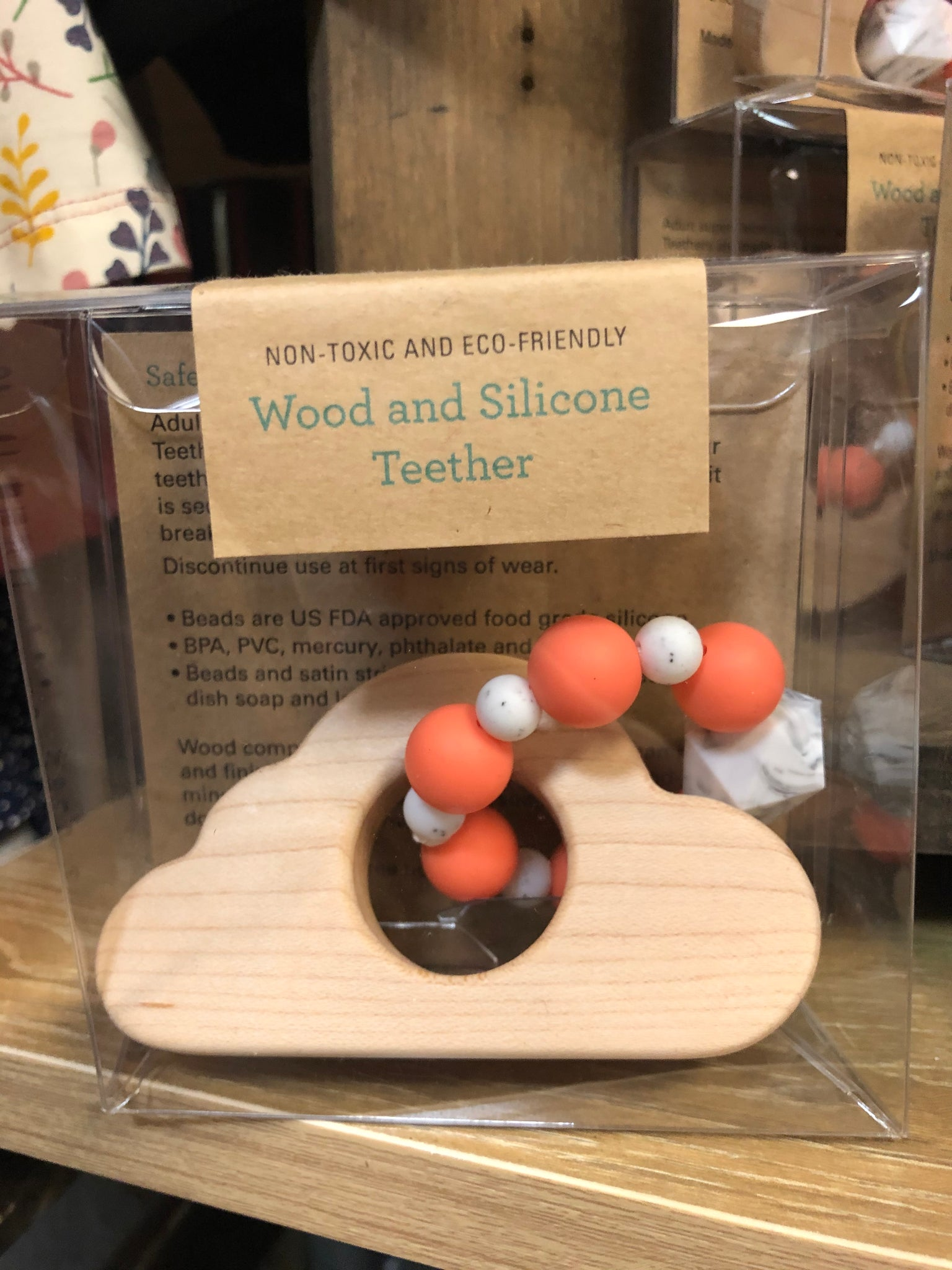 Wood & Silicone Teethers