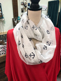 Anchors Away Infinity Scarf