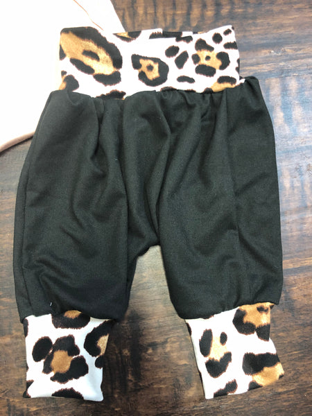 Infant/Toddler Harem Cheetah Pants