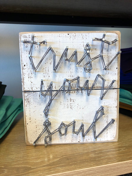 Trust Your Soul String Art Box Sign
