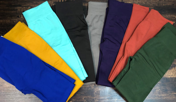 New Mix Fleece Lined Leggings