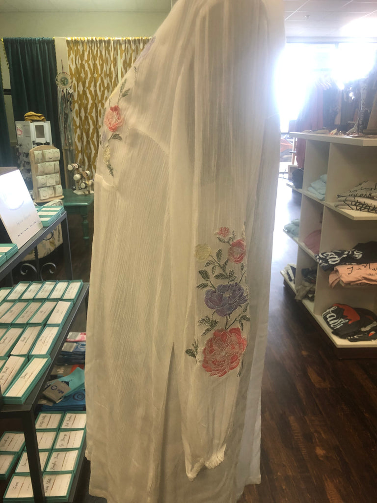 Floral Embroidered Dress (Large)