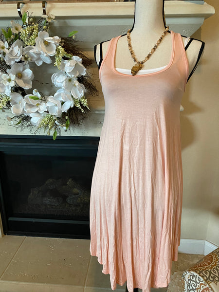 Small Dusty Rose Tank Dress