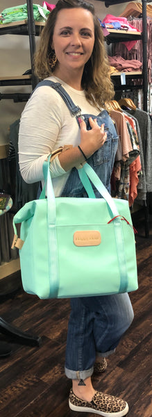 Mint Insulated Cooler Tote: Happy Hour