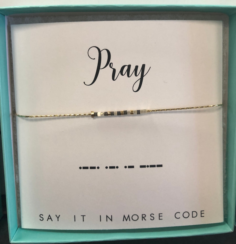 Dot & Dash Morse Code Adjustable Bracelets