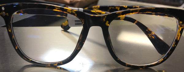 Audrey Blue Light Blocker Glasses (Tortoise)