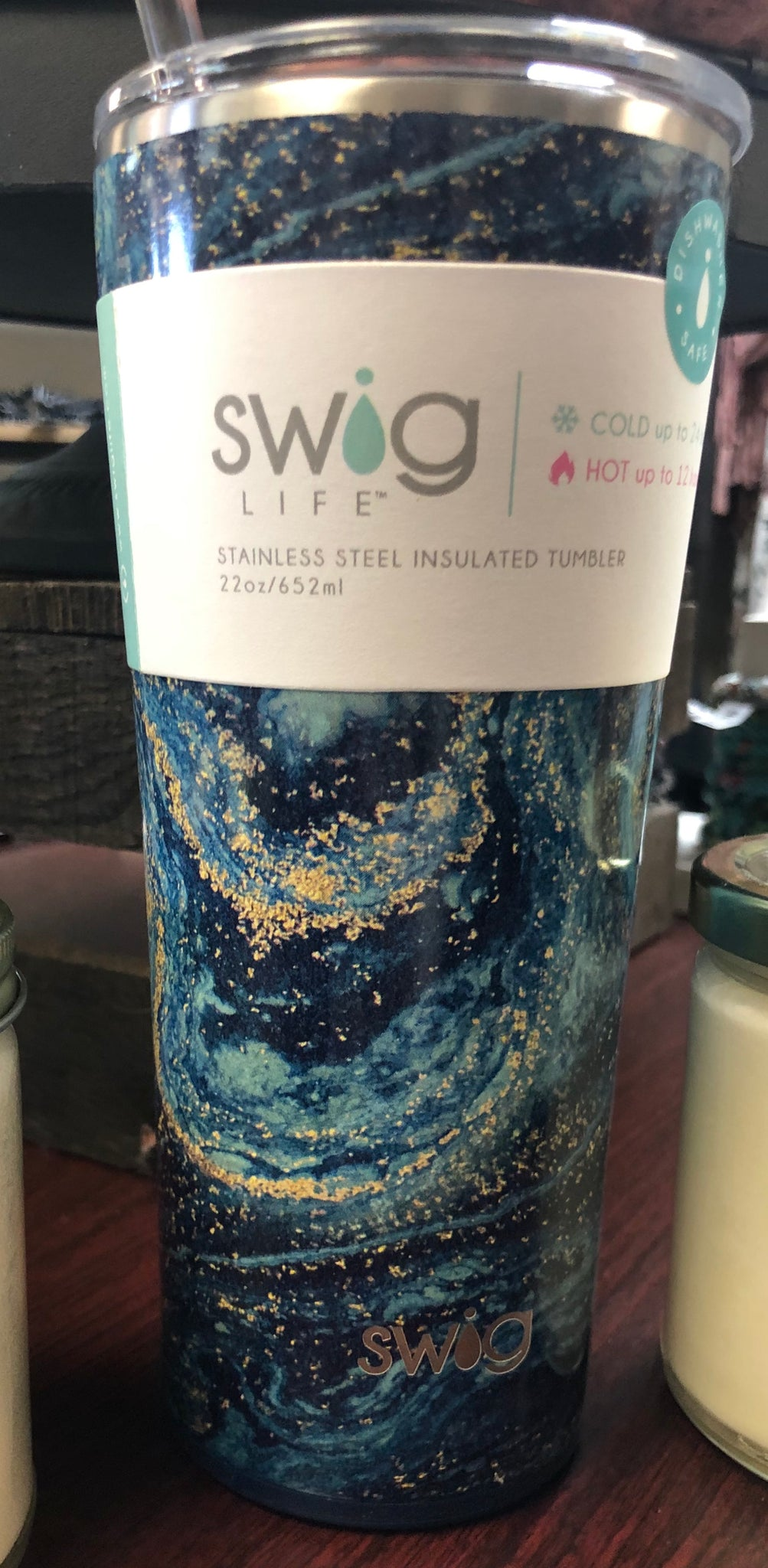 22oz Starry Night Insulated Tumbler