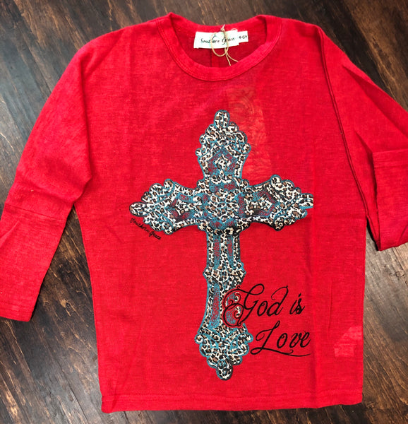Youth God is Love Top