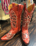 Red Rebel Cowgirl Boots