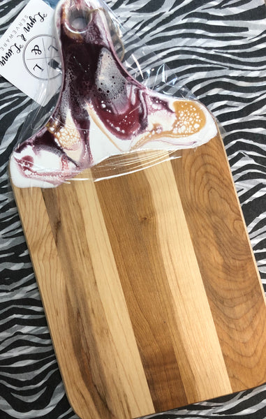Resin Handle Cheese Trays