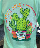 "Itsa Girl Thing ""Free Hugs"" Cacti T-Shirt"