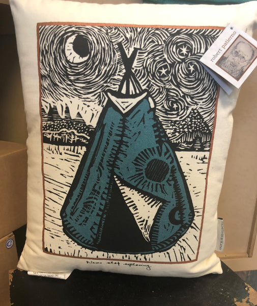 Artistic TeePee Pillow