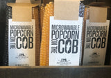 Microwavable Popcorn on The Cob