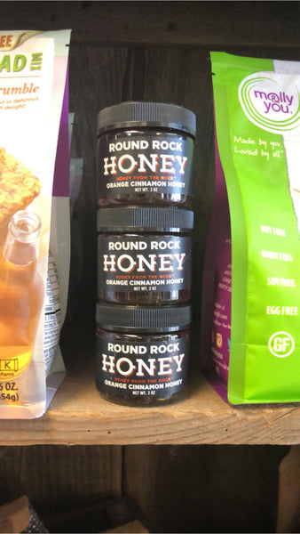 Round Rock Honey: Orange Cinnamon