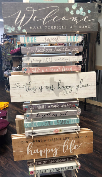 Wall Decor Signs