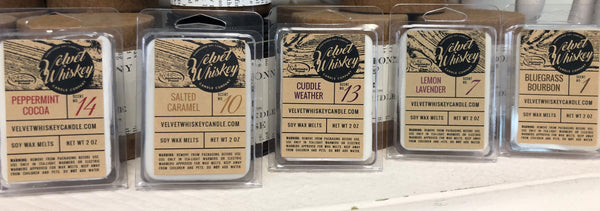 Velvet Whiskey Candle Co.  Wax Melts