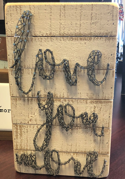 Love You More String Art Box Frame