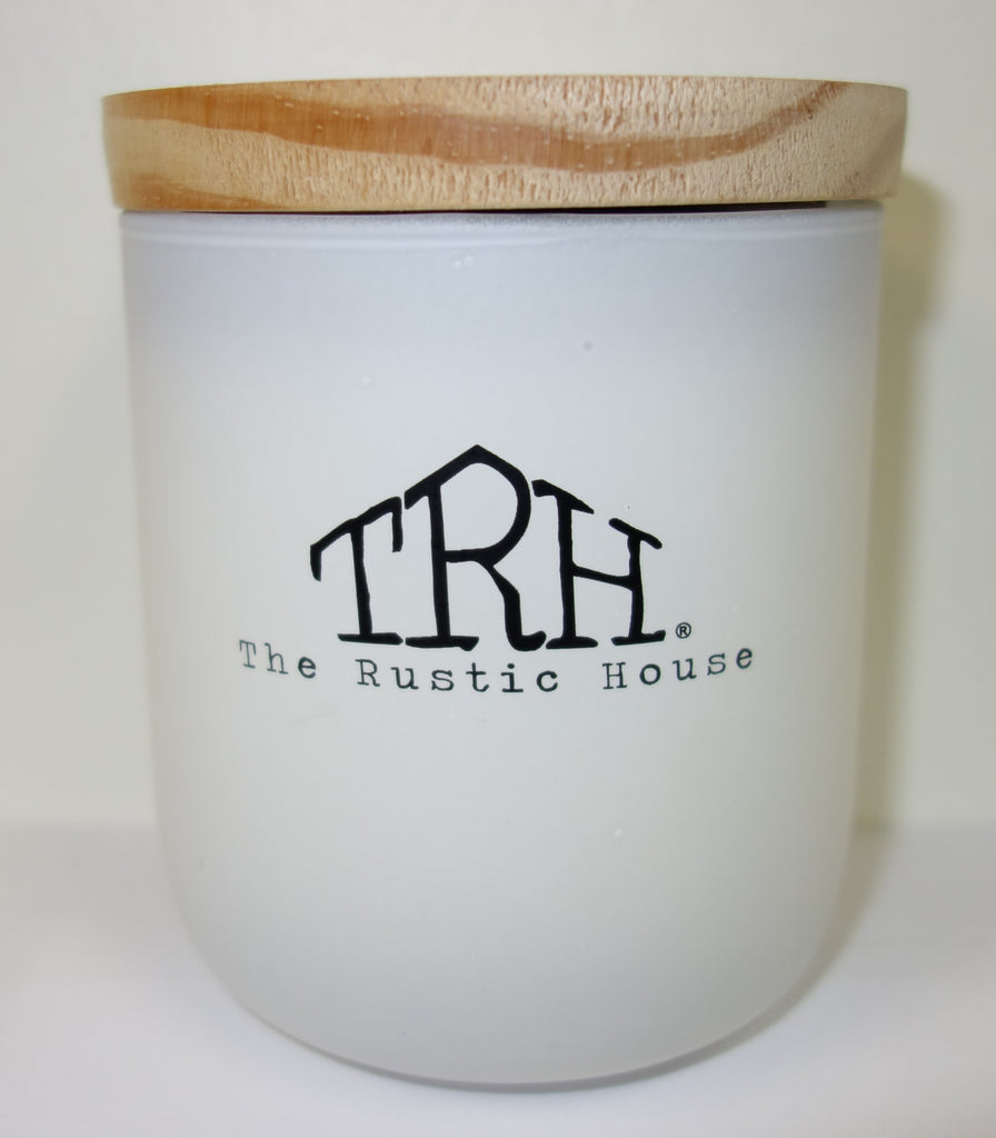 The Rustic House: Rosemary & Mint Soy Candle