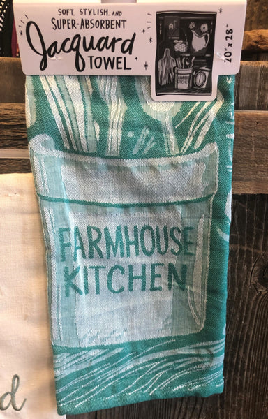 Farmhouse Kitchen Dish Towel