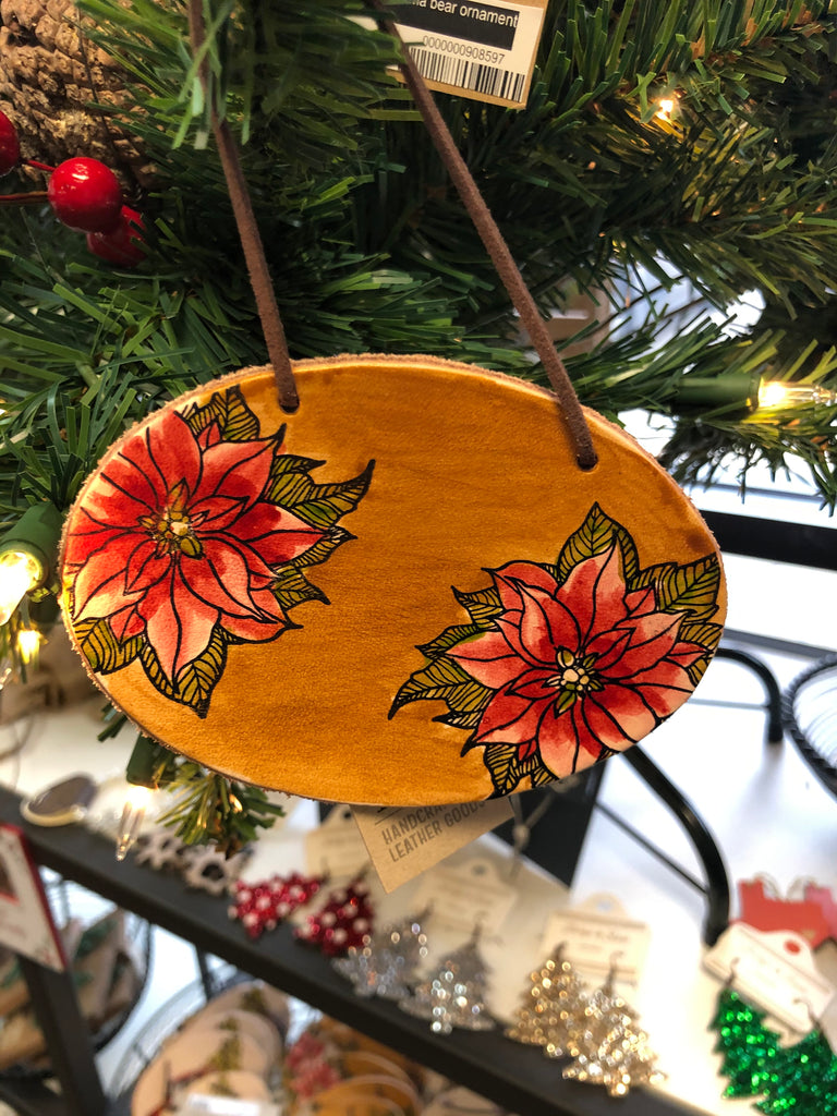 Hide & Thistle Leather Ornaments
